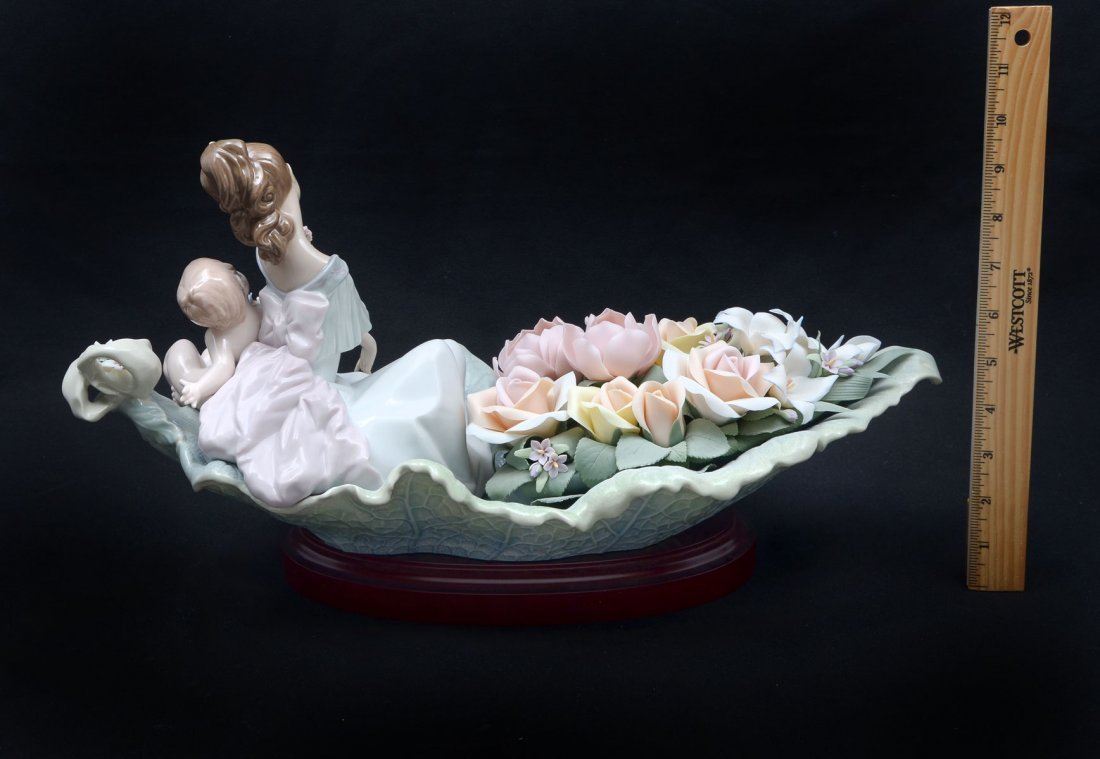 "LLADRO FIGURINE ""RIVER OF DREAMS"" FIGURINE - 3"