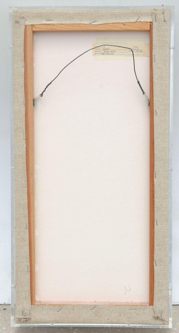 """NED MOULTON """"MOULTON GLASS FRAMED SCULPTURE"""" - 3"""