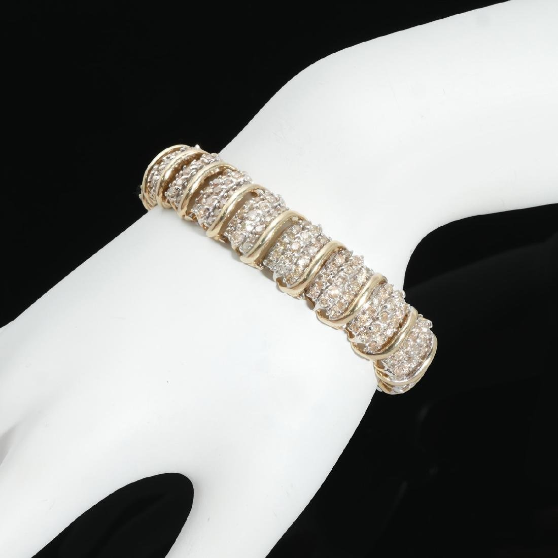 10K 8.00 CTW DIAMOND BRACELET