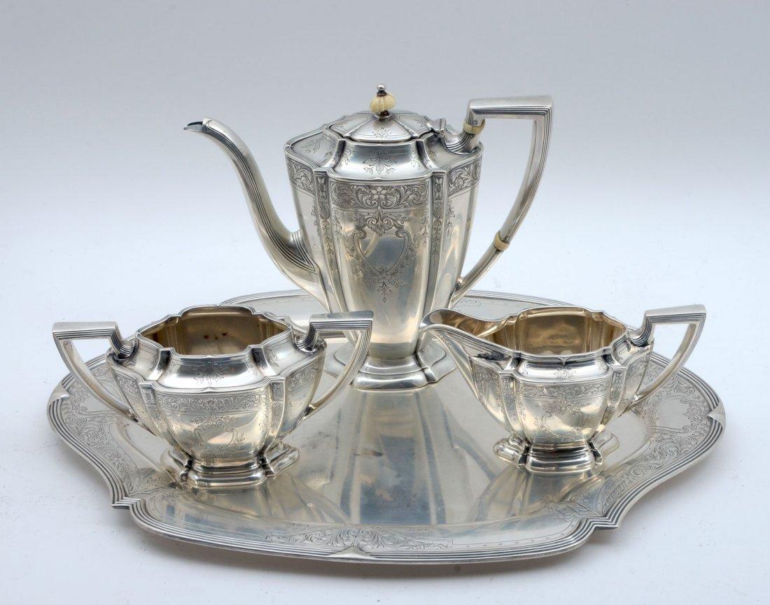 OLE ASCHJEM STERLING TEA SET