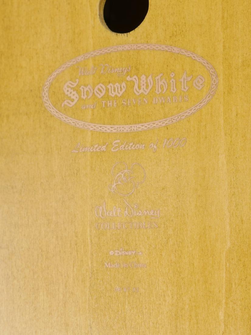 WALT DISNEY LIMITED SNOW WHITE CUCKOO CLOCK - 3