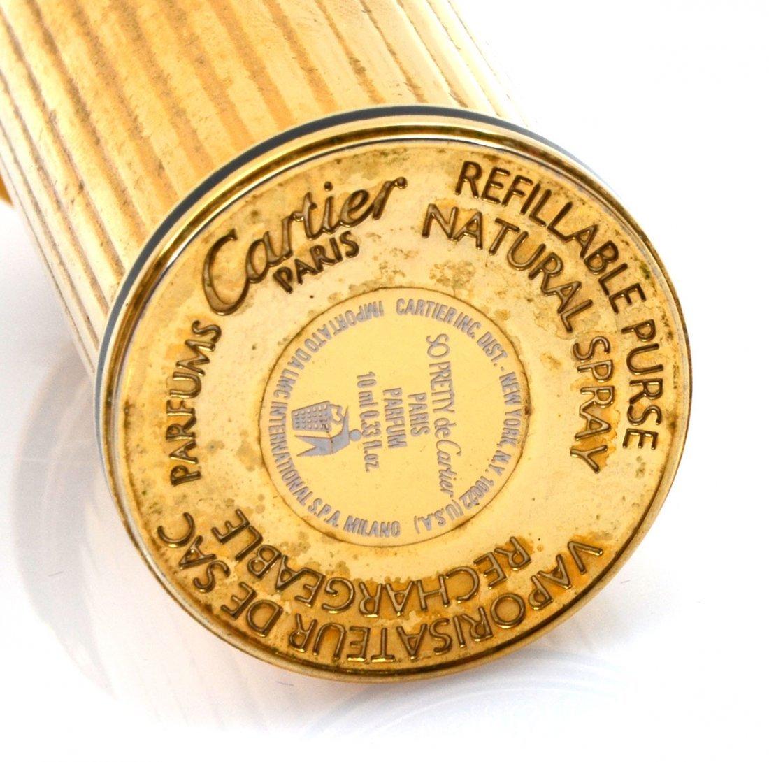 """CARTIER """"SO PRETTY"""" GOLD PERFUME DISPENSER - 3"""