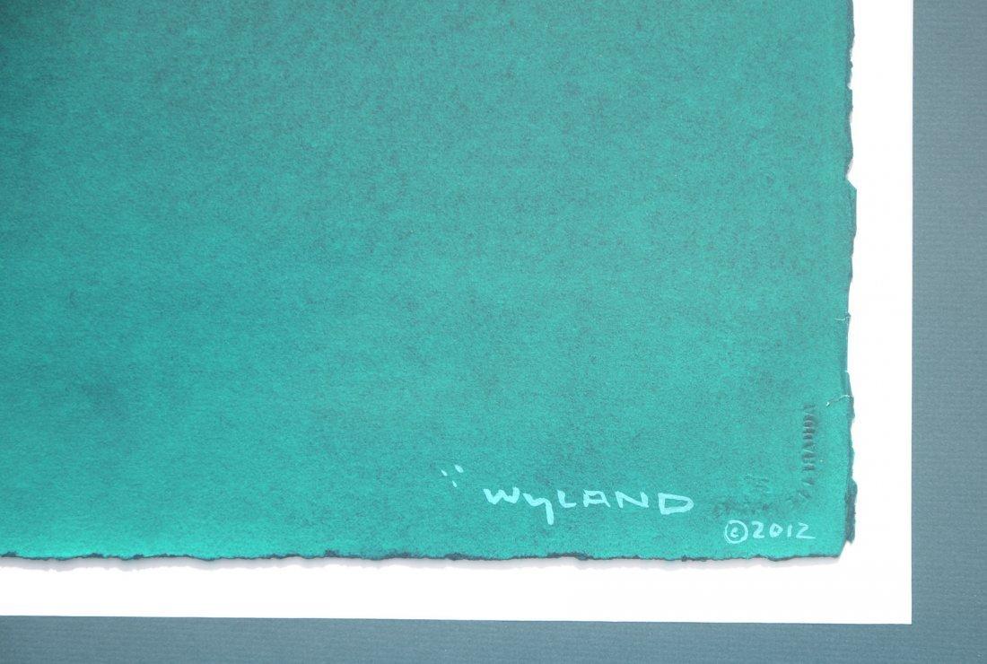 WYLAND SEA TURTLES WATERCOLOR PAINTING - 3