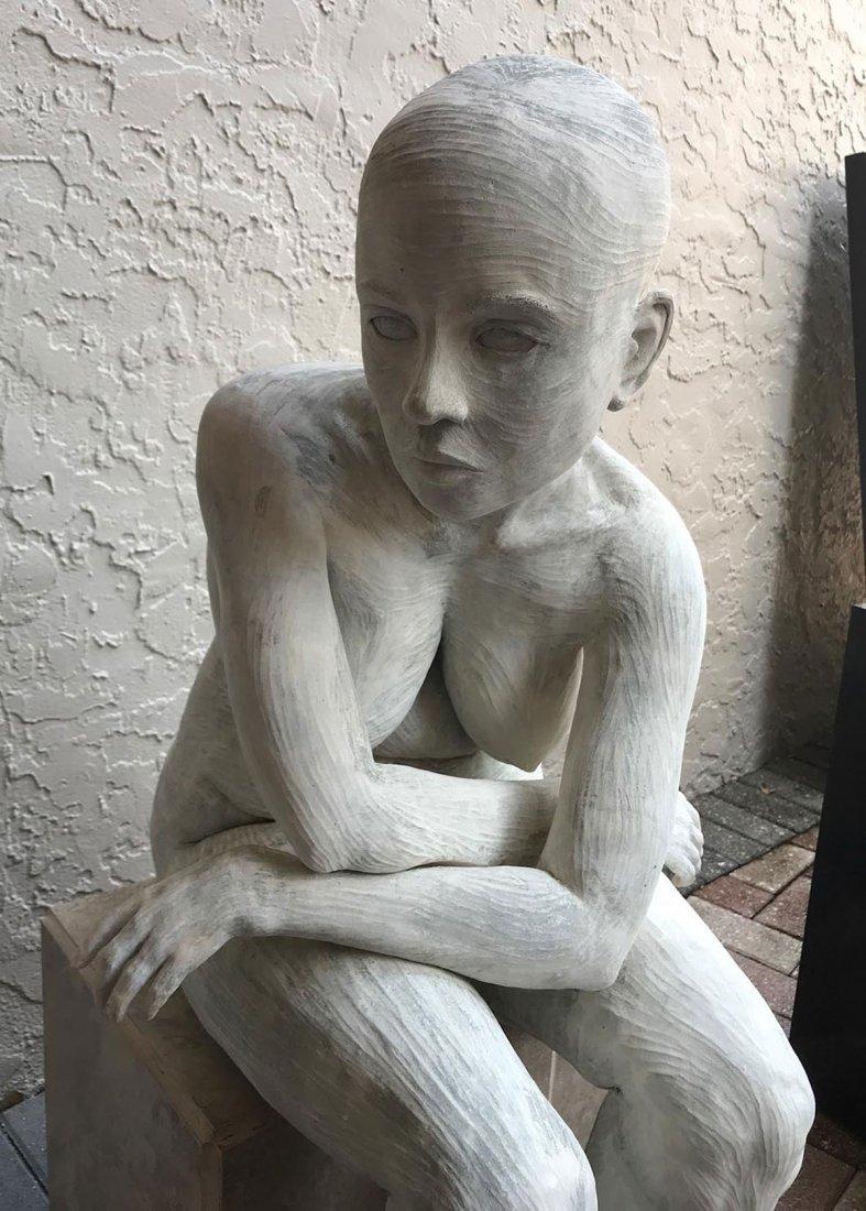 LIFE SIZE FEMALE NUDE SCULPTURE - 2