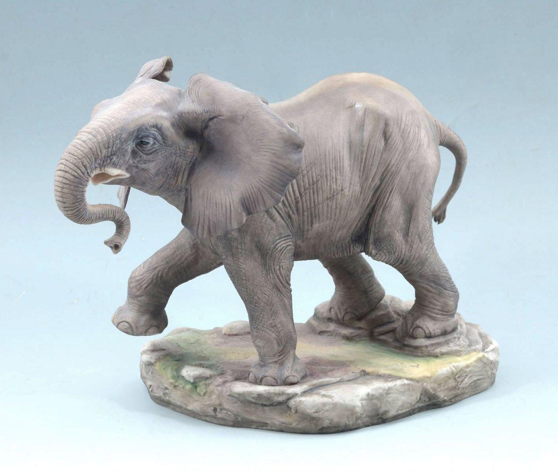 BOEHM PORCELAIN AFRICAN ELEPHANT