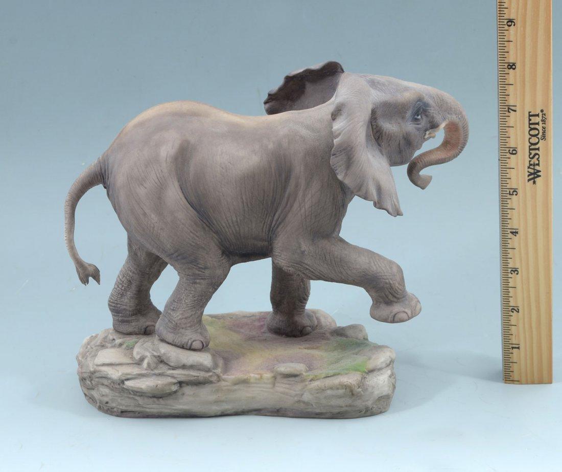 BOEHM PORCELAIN AFRICAN ELEPHANT - 3