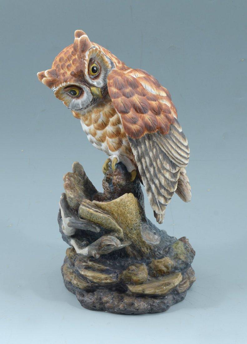 BOEHM LIMITED PORCELAIN OWL