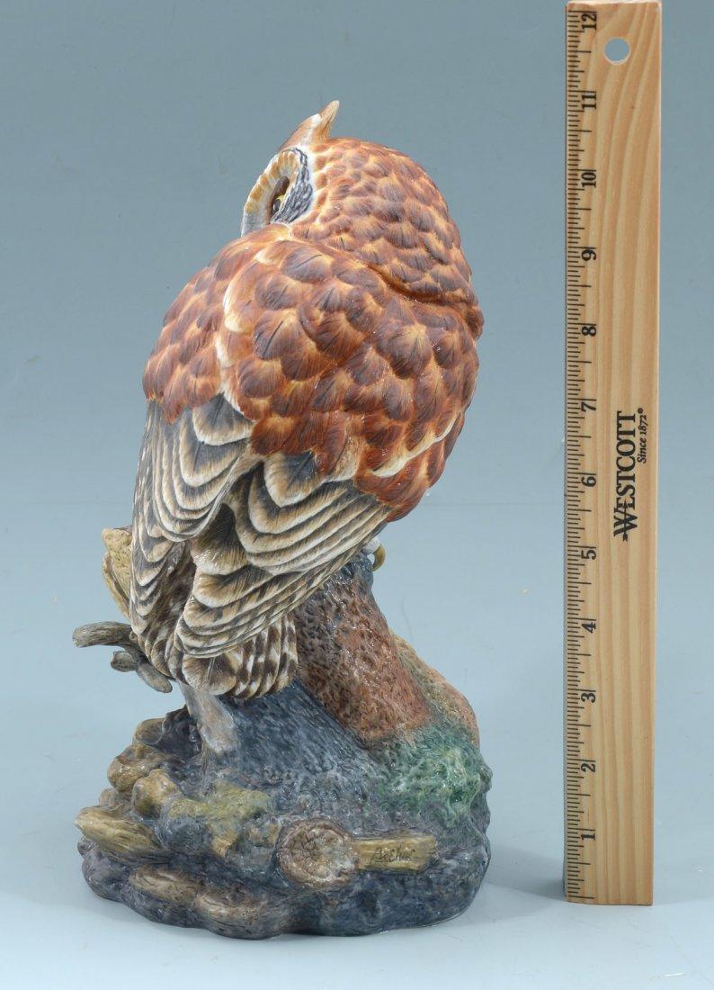 BOEHM LIMITED PORCELAIN OWL - 3