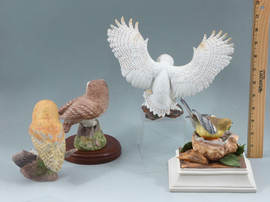 4 PC. BOEHM & LENOX PORCELAIN BIRD COLLECTION - 2