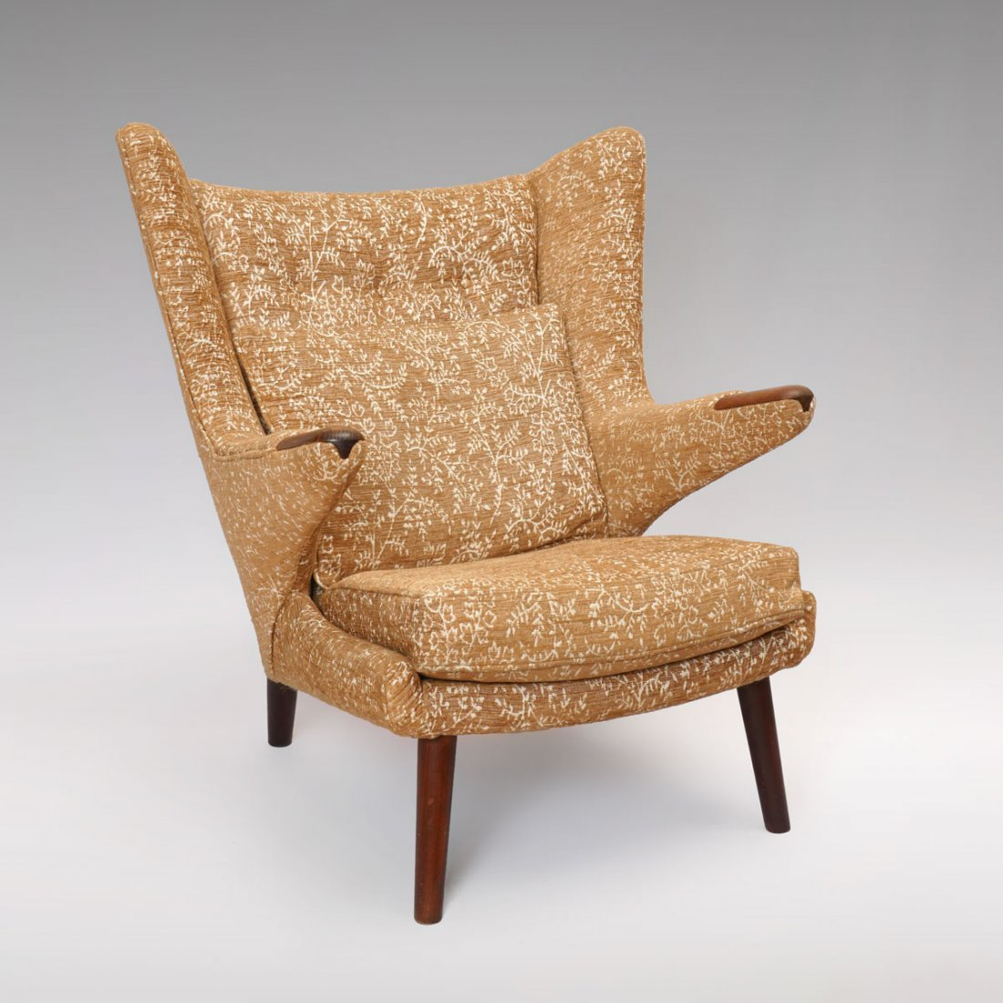"HANS WEGNER ATTRIBUTED ""PaPa BEAR"" CHAIR"
