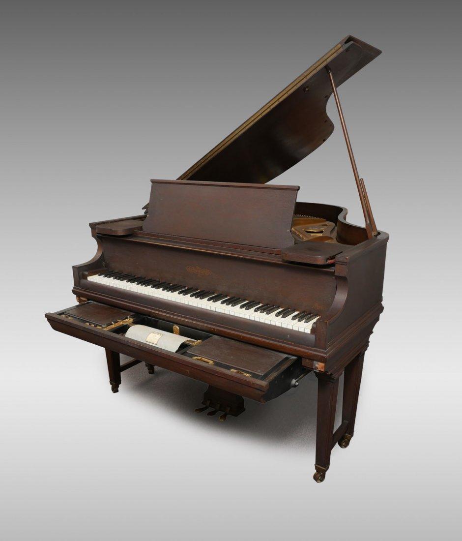 CHICKERING & SONS, BOSTON BABY GRAND PLAYER PIANO