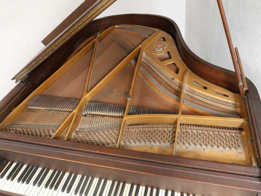 CHICKERING & SONS, BOSTON BABY GRAND PLAYER PIANO - 3