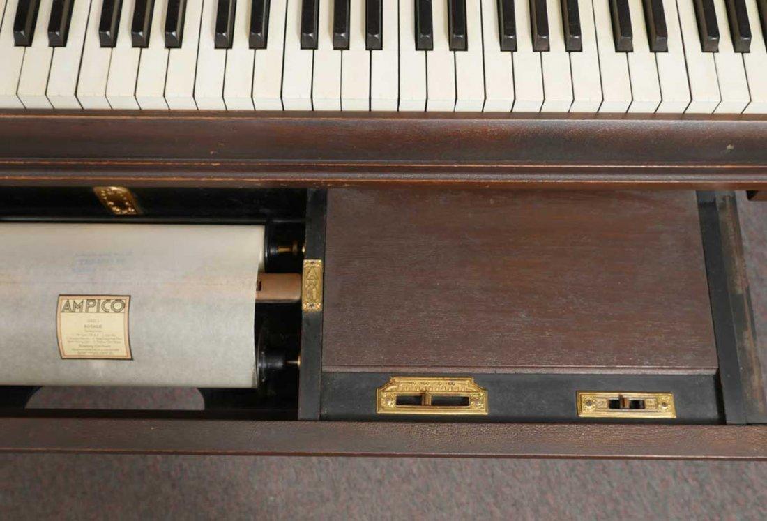 CHICKERING & SONS, BOSTON BABY GRAND PLAYER PIANO - 6