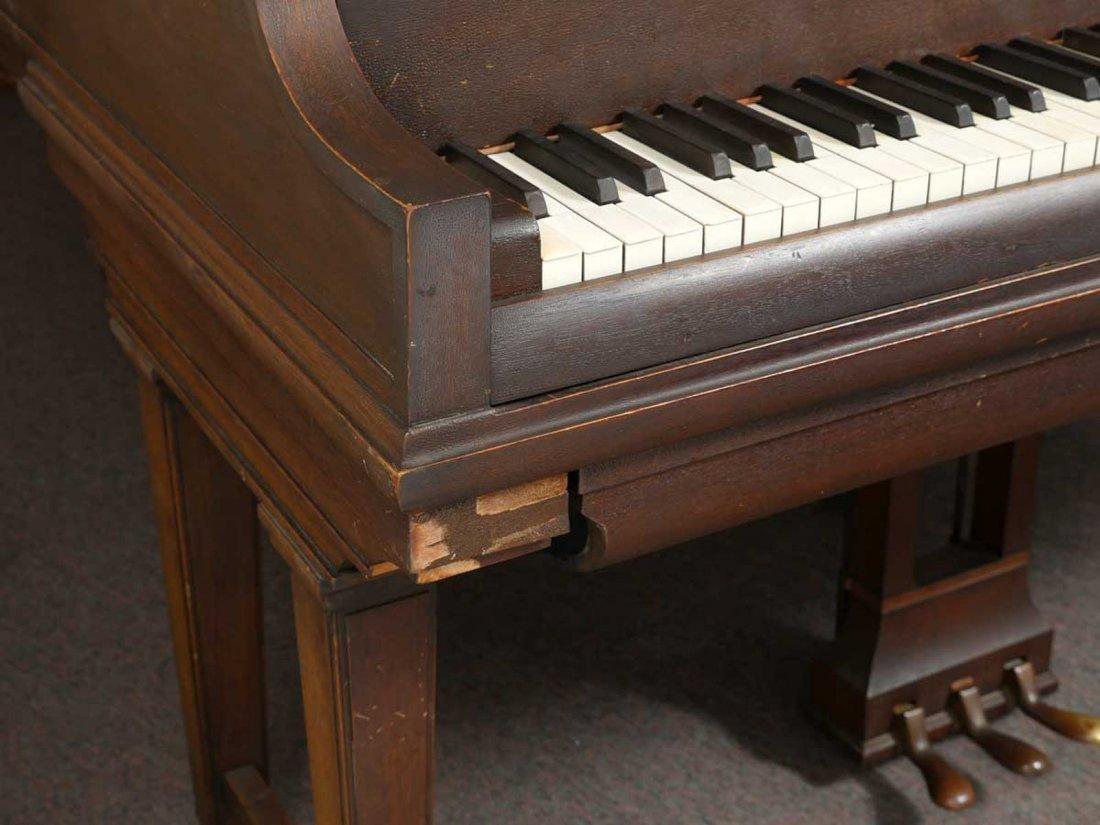 CHICKERING & SONS, BOSTON BABY GRAND PLAYER PIANO - 9