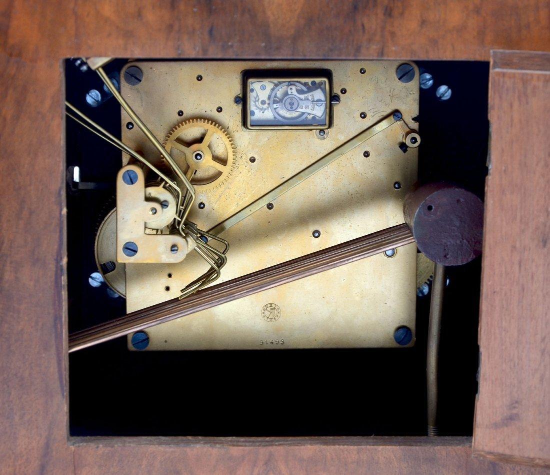 ART DECO MANTLE CLOCK - 4