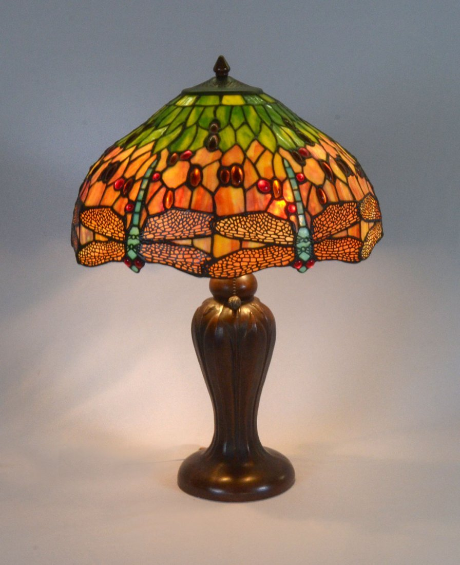 DALE TIFFANY DRAGONFLY LAMP