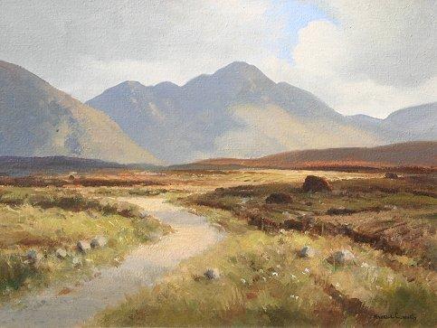 1020: WILKS IRISH LANDSCAPE PAINTING