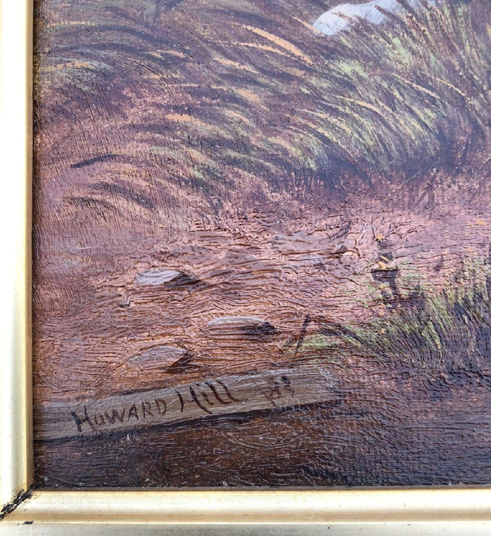 HOWARD HILL HUNTING DOGS PAINTING - 3