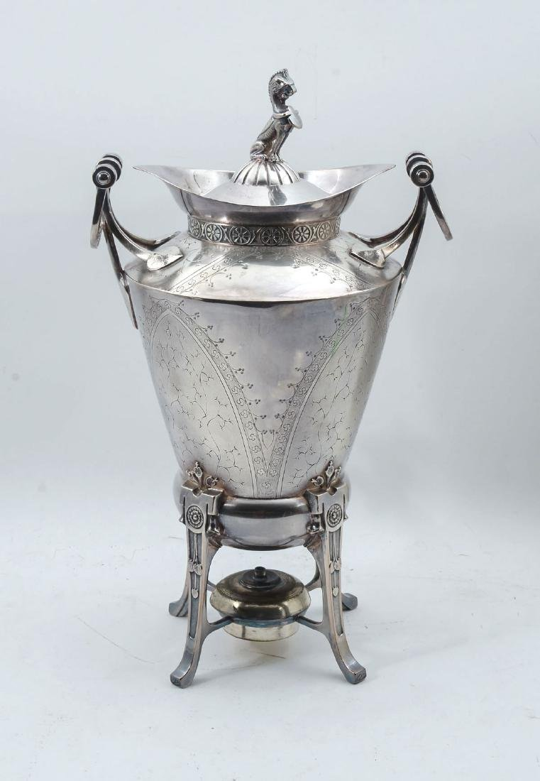 REED & BARTON AESTHETIC MOVEMENT SAMOVAR