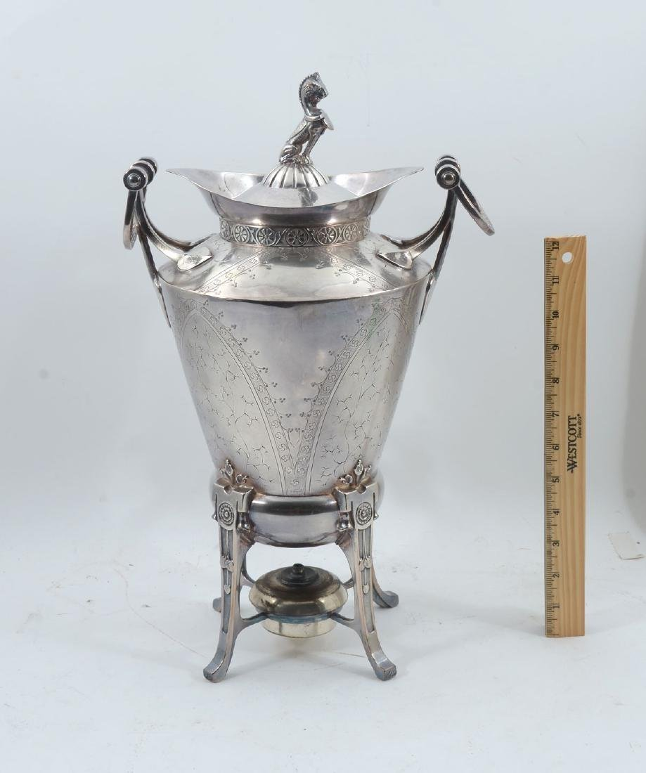 REED & BARTON AESTHETIC MOVEMENT SAMOVAR - 4