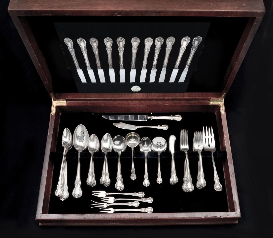 76 PC. TOWLE ''OLD MASTER'' STERLING FLATWARE