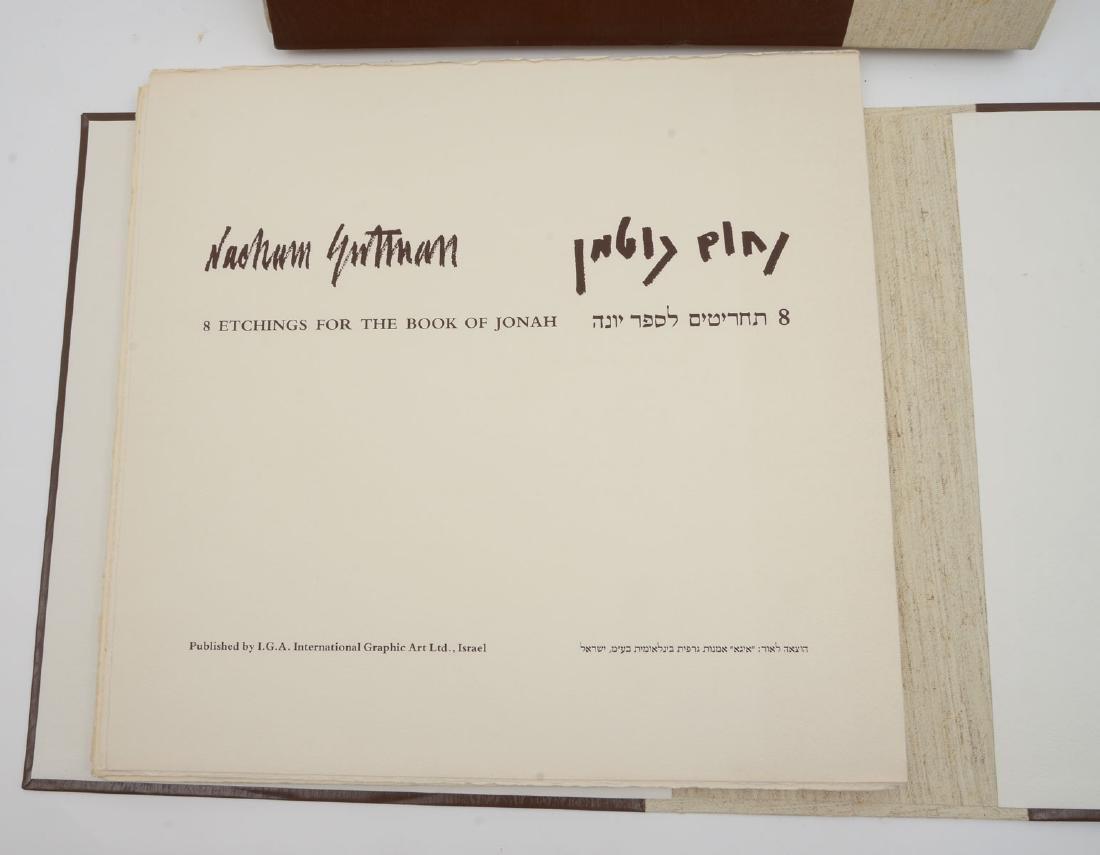 NACHUM GUTMAN PORTFOLIO OF EIGHT ETCHINGS - 2