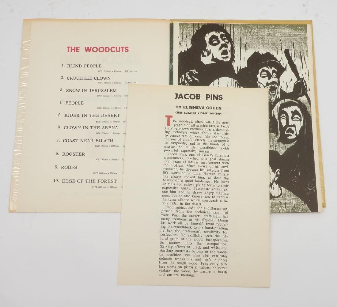 JACOB PINS WOODCUTS - 5