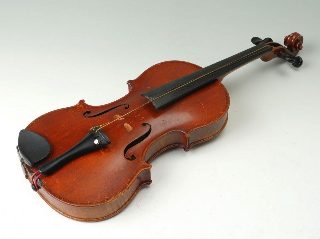 1922 CARLO MICELLI VIOLIN & 2 BOWS - 2