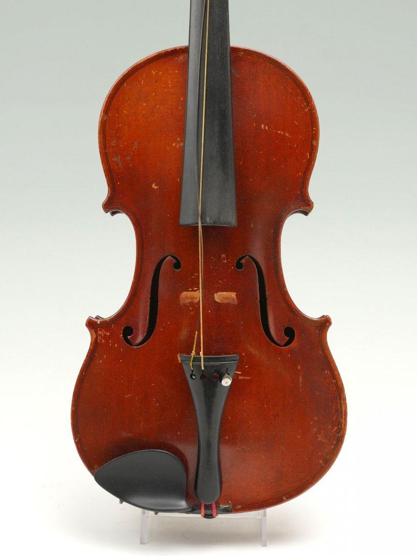1922 CARLO MICELLI VIOLIN & 2 BOWS - 3