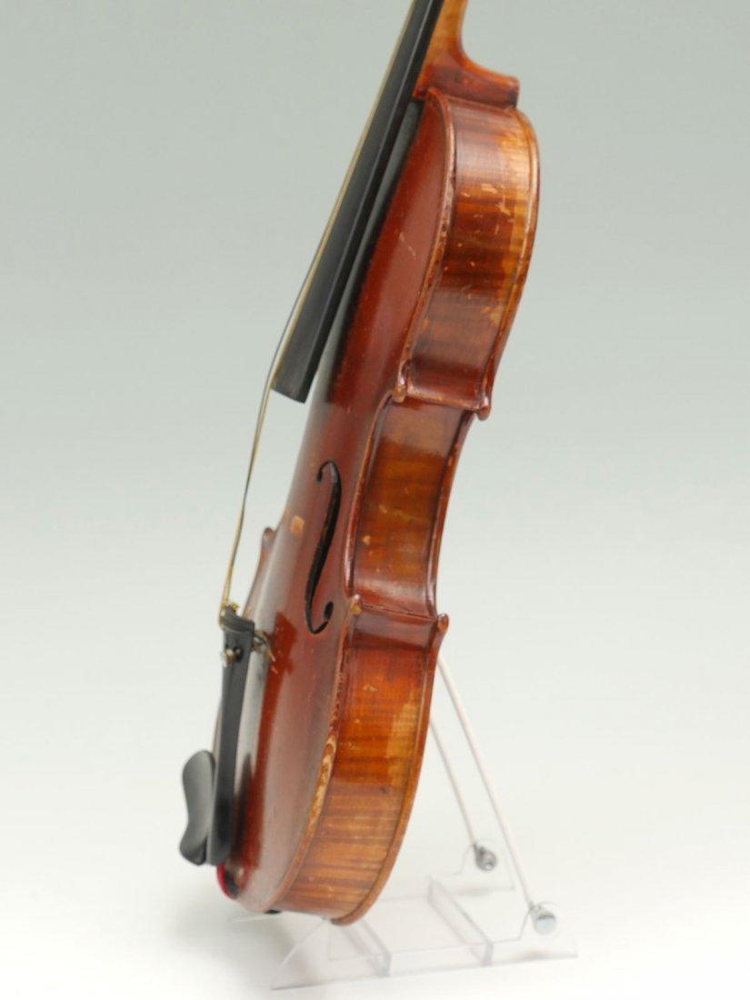 1922 CARLO MICELLI VIOLIN & 2 BOWS - 4