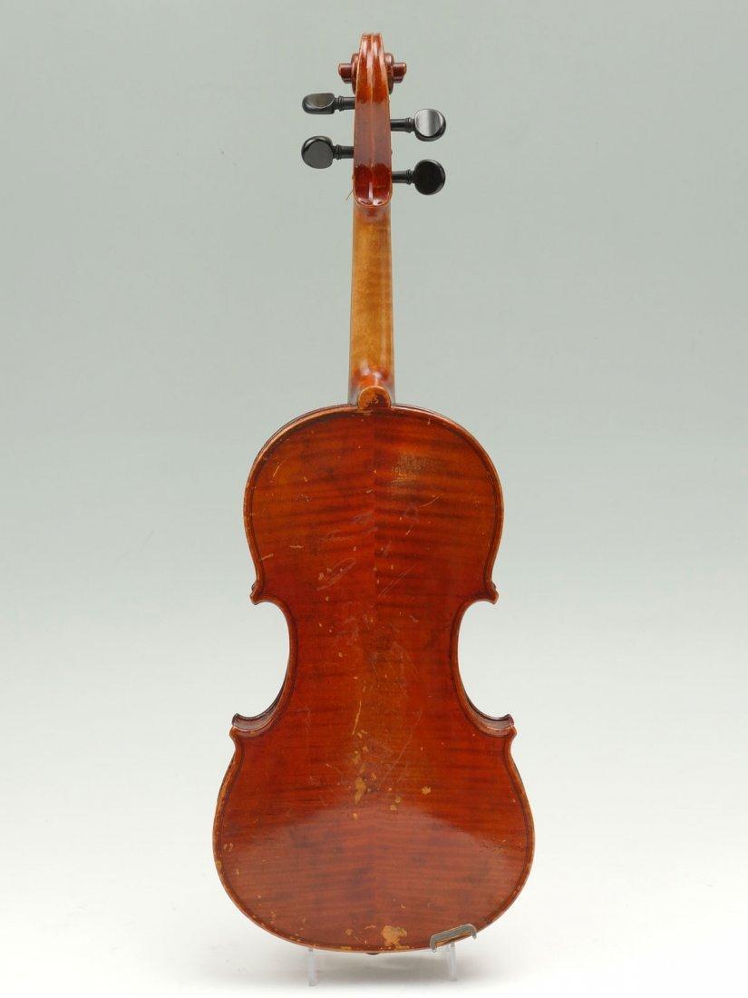 1922 CARLO MICELLI VIOLIN & 2 BOWS - 6