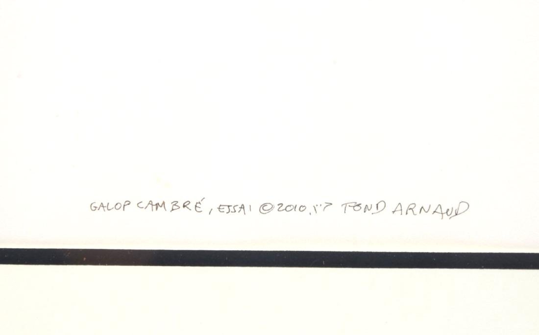 AZOULAY GALLOP CAMBRE ORIGINAL PEN AND INK - 5