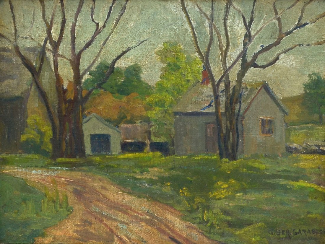GARABEDIAN COUNTRY FARM PAINTING