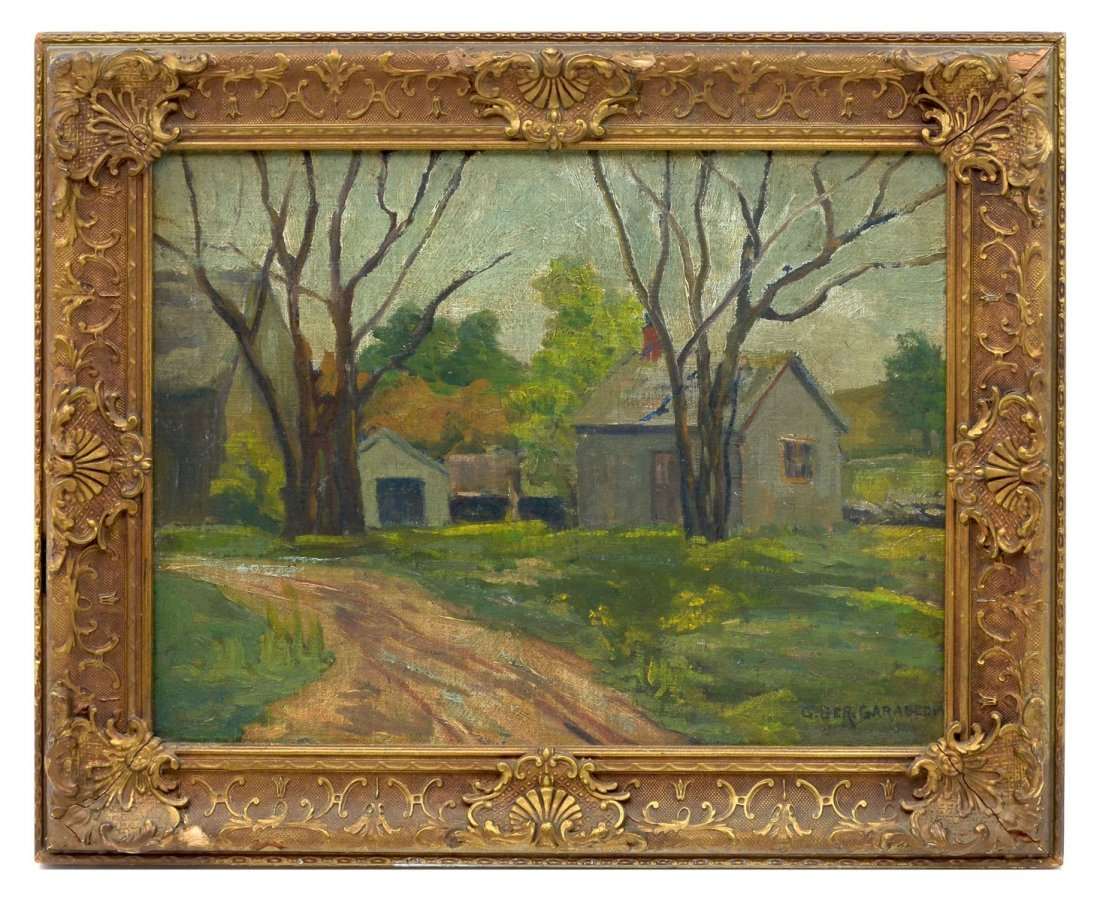 GARABEDIAN COUNTRY FARM PAINTING - 2