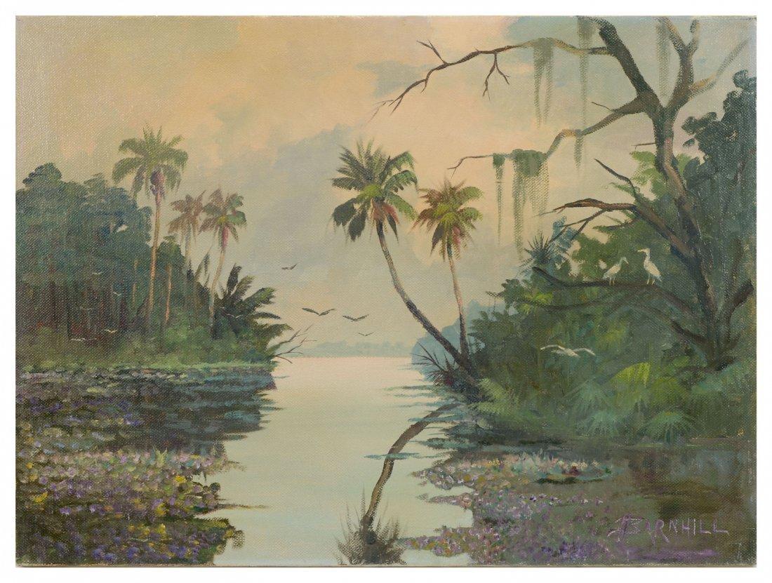 BARNHILL FLORIDA RIVER SCENE
