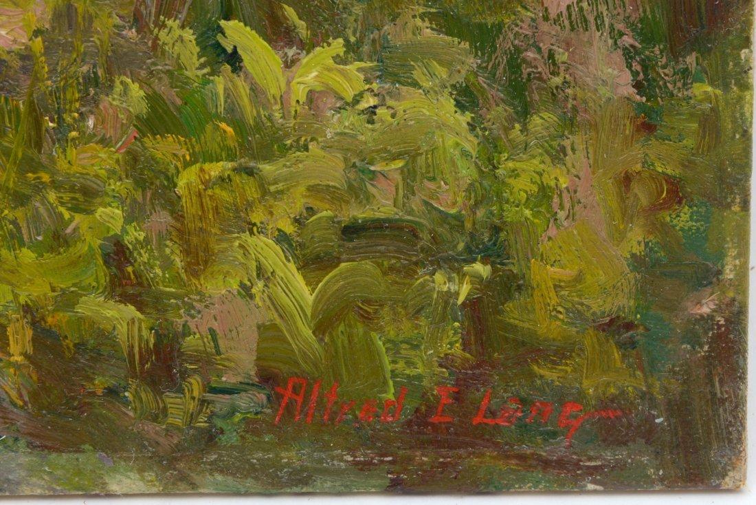 ALFRED E. LANG COASTAL FLORIDA PAINTING - 2