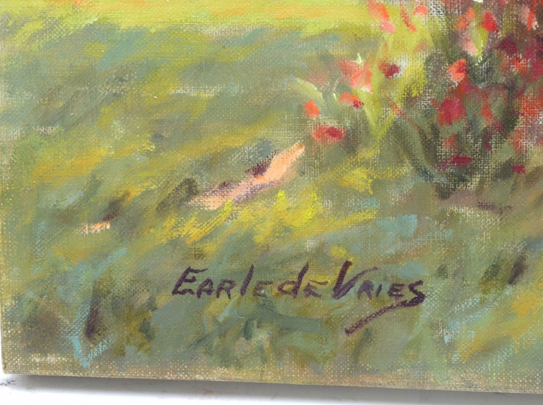 """EARLE DE VRIES PAINTING """"SUNLIGHT AND SHADOWS"""" - 2"""