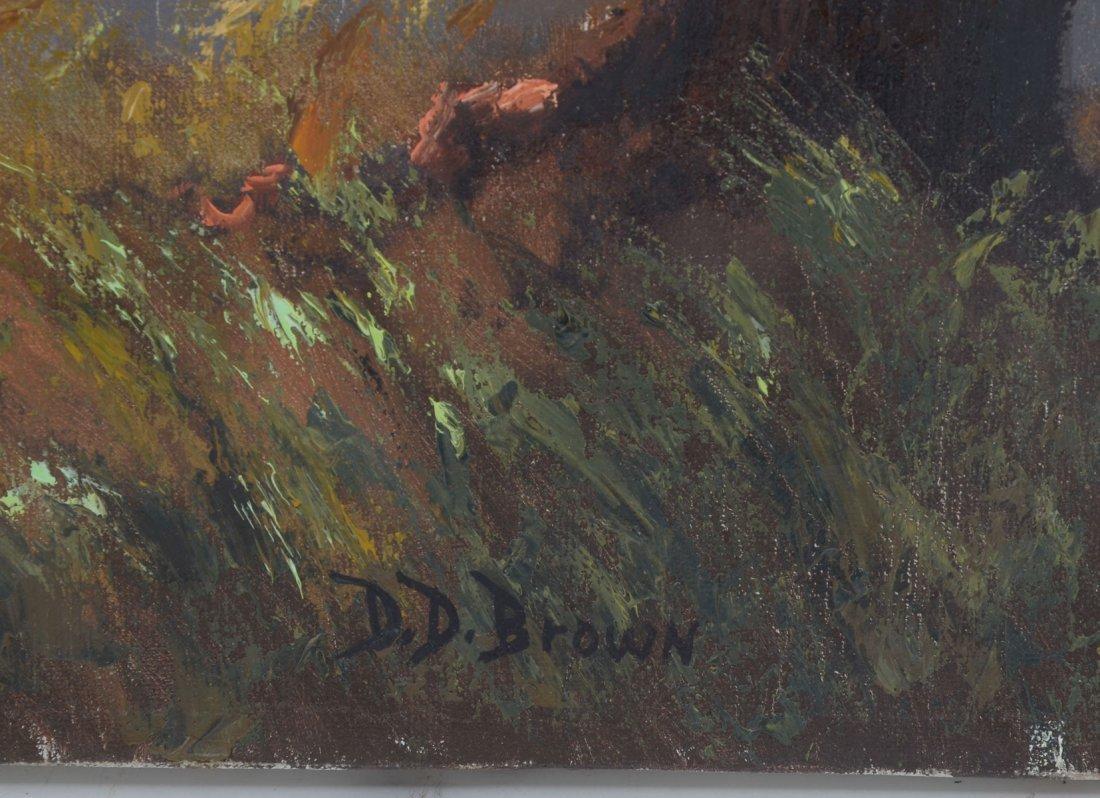 D. D. BROWN FLORIDA LANDSCAPE PAINTING - 2