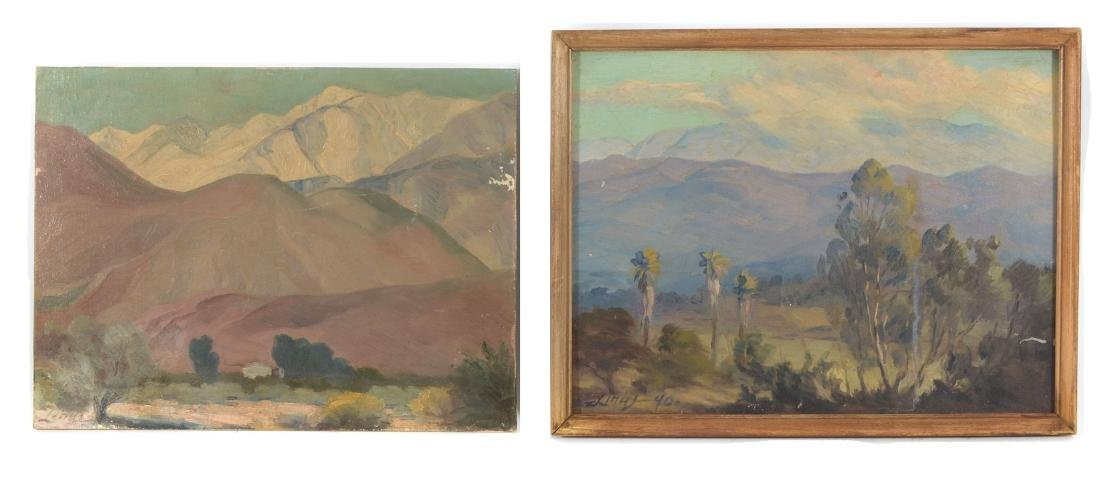 AXEL LINUS 2 CALIFORNIA PAINTING LOT