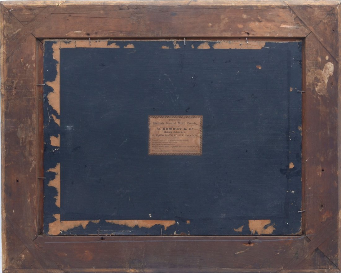 19th CENTURY EUROPEAN PANORAMIC PASTORAL PAINTING - 3