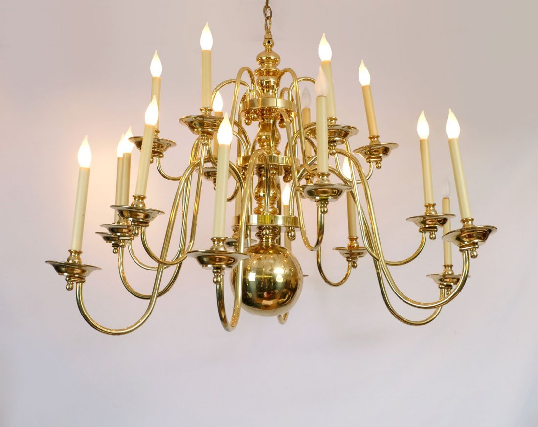 CHAPMAN CHANDELIER FROM PALNA CEIA COUNTRY CLUB TAMPA