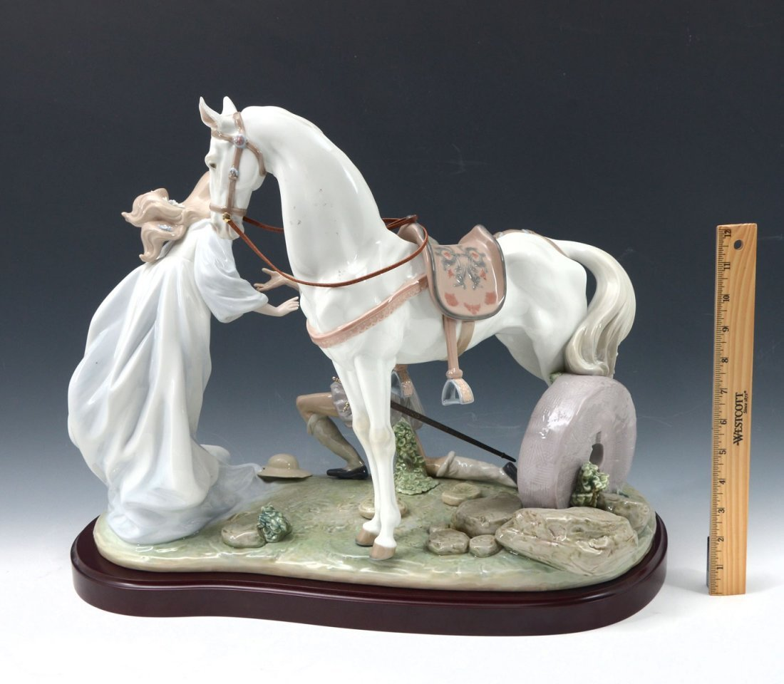 "LLADRO ""CONQUERED BY LOVE"" FIGURINE - 2"