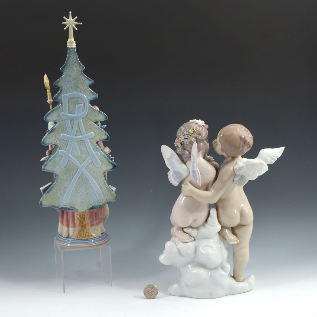 2 LARGE LLADRO FIGURINES - 2
