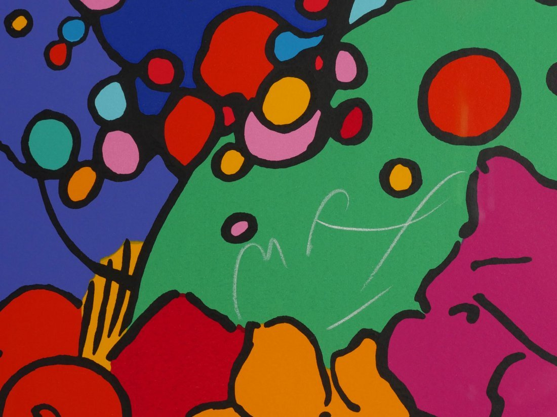 "LARGE PETER MAX SERIGRAPH ""DISCOVERY"" - 3"