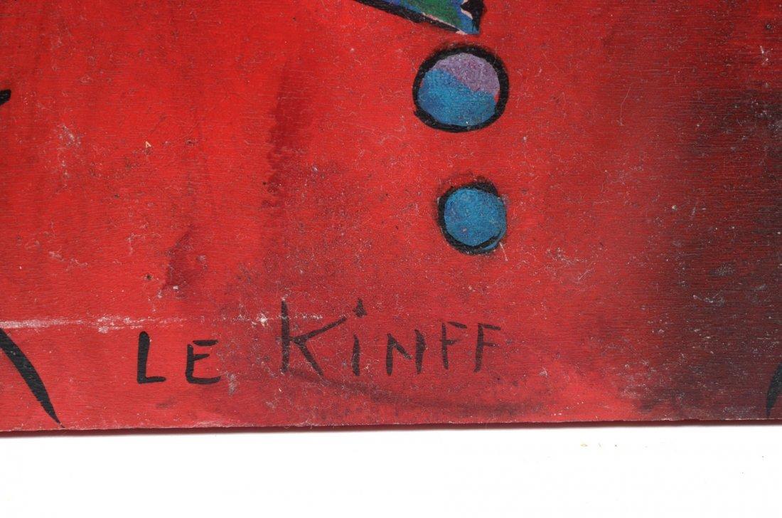 """LINDA LE KINFF PAINTING """"DEANDRIA"""" - 2"""