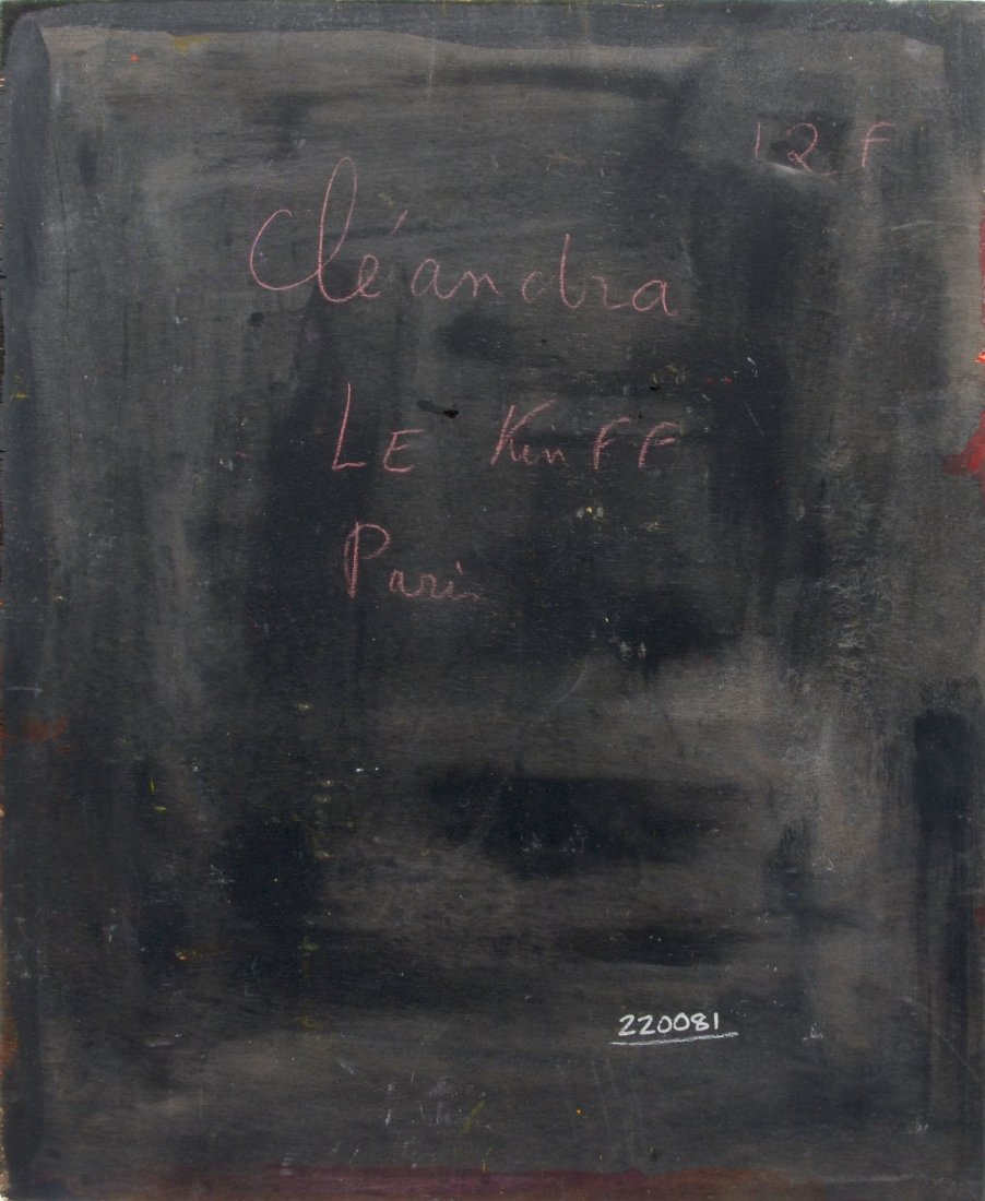 """LINDA LE KINFF PAINTING """"DEANDRIA"""" - 3"""