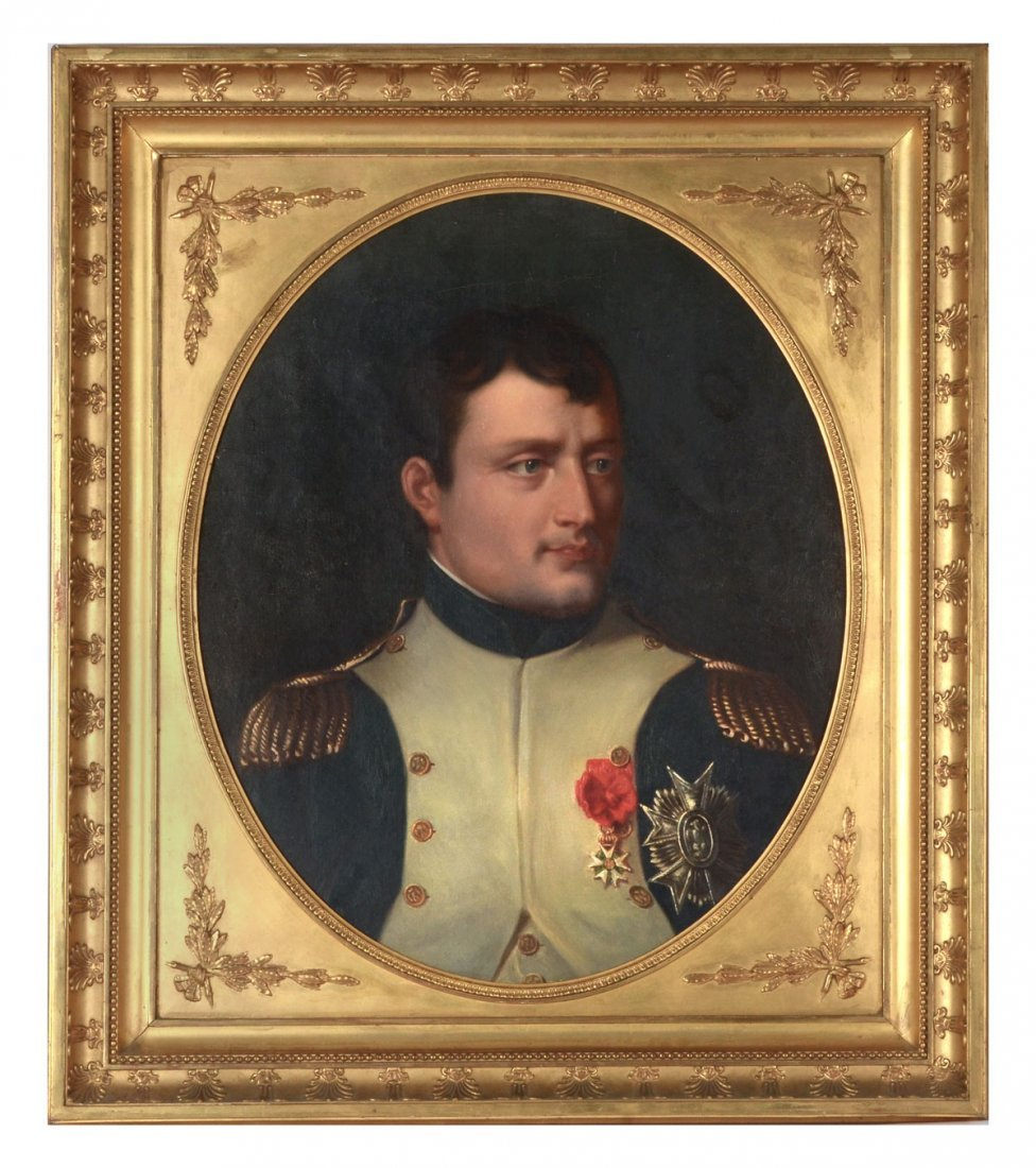 19TH CENTURY PORTRAIT PAINTING OF NAPOLEON AFTER LAFAVE