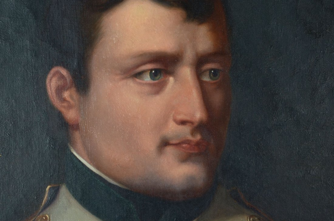 19TH CENTURY PORTRAIT PAINTING OF NAPOLEON AFTER LAFAVE - 2