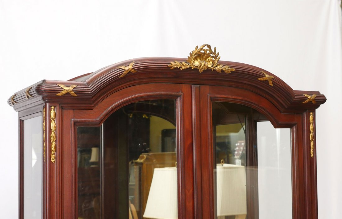 FRENCH EMPIRE STYLE DISPLAY CABINET - 2
