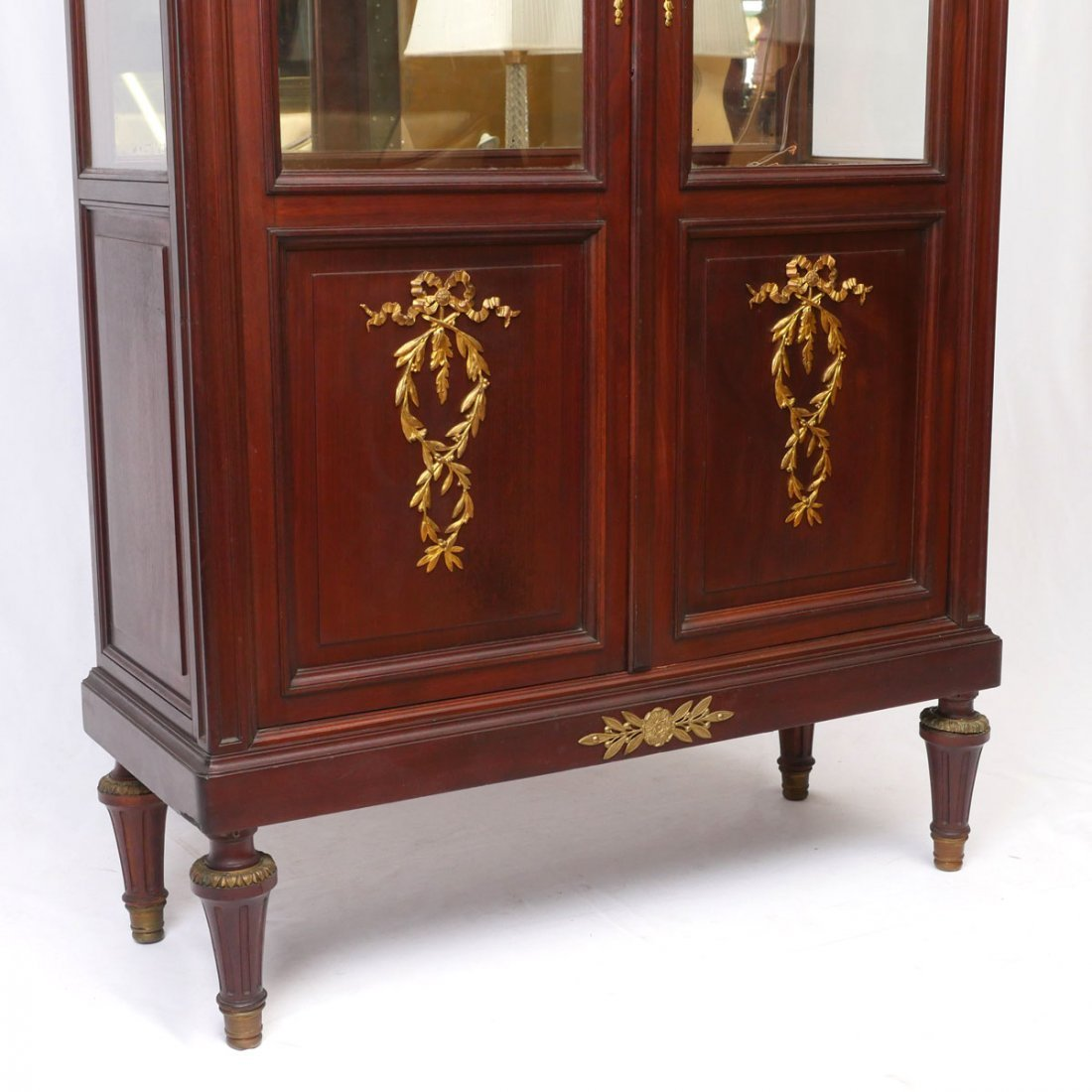 FRENCH EMPIRE STYLE DISPLAY CABINET - 3
